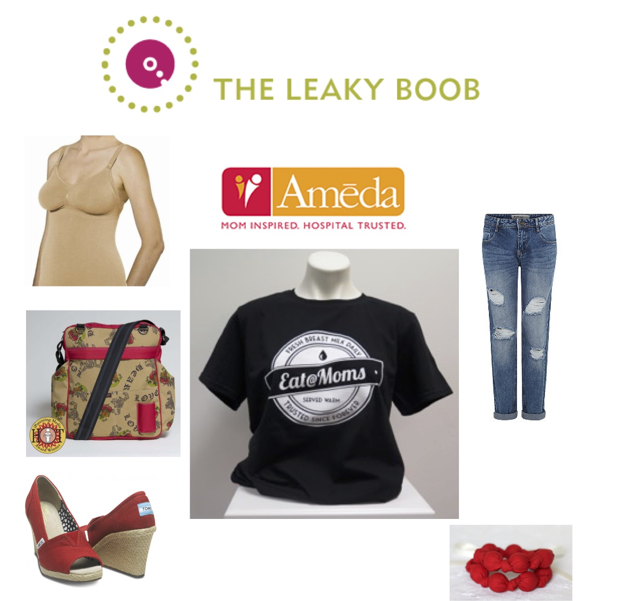 aba79f7407c09 Leaky Boob Looks with Ameda- Boob Out Fashion for Breastfeeding Moms ...