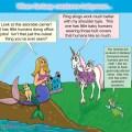 Babycarrier mermaid unicorn and fairy.