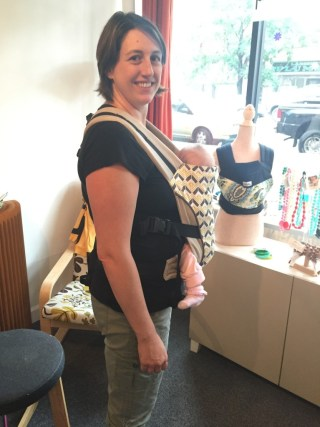 Babywearing safety from Catbird with TLBsafeKids