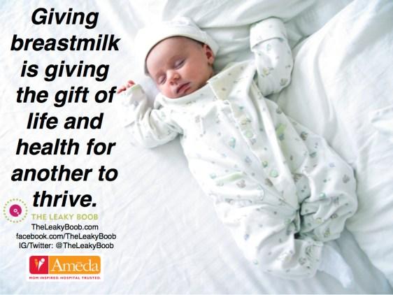 Milk donation gift ameda meme