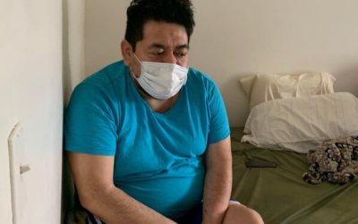 Quarantine:  My father has corona