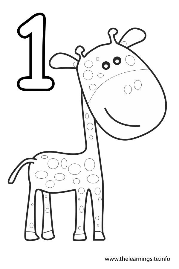 flashcard giraffe