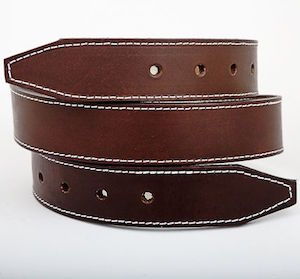 Austin Healey leather bonnet strap