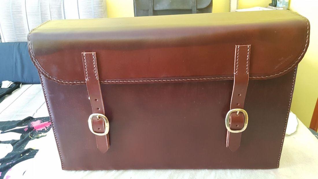 Leather Fire Hose Case