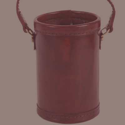 Leather gunpowder Keg