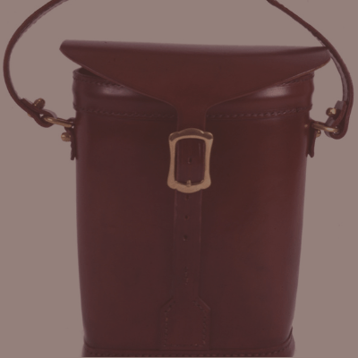 Leather twin Ammunition bag