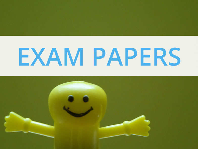 2016 Exam Papers and Marking Schemes