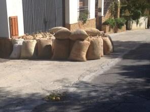 Almond sacks - Chite
