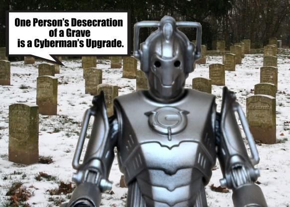 Cyberman-graveyard