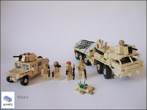 HumVee Desert