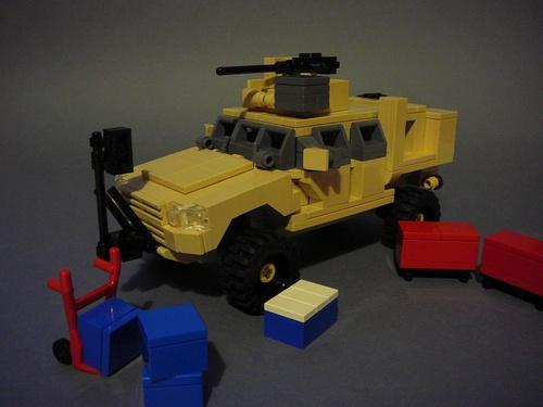4x4 HumVee