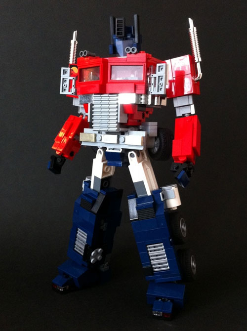 Alex Wong's Optimus Prime