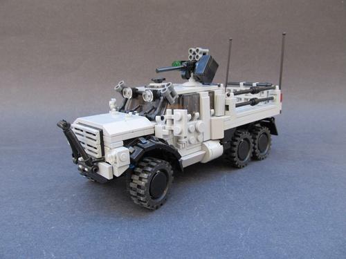 Lego Army truck
