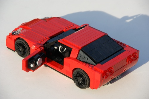 Lego Corvette