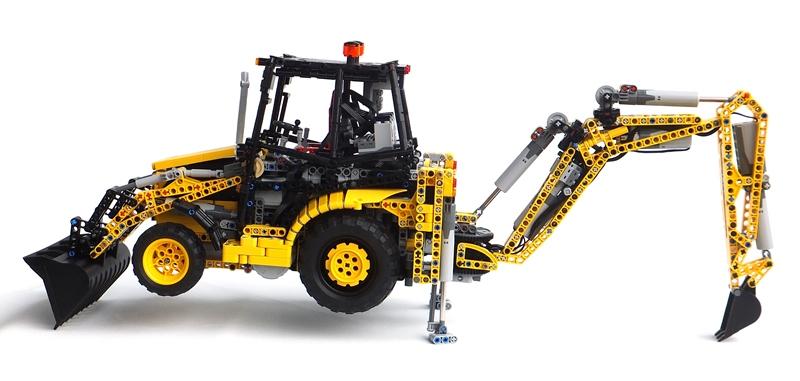 Lego Caterpillar Digger