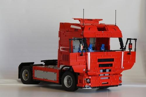 Iveco Stralis Truck Lego