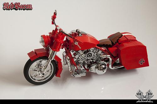 Red Baron Motorbike