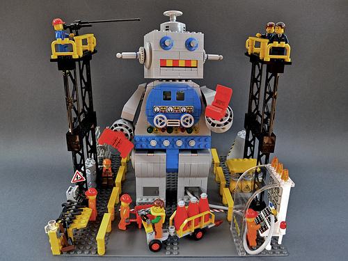 Giant Lego Robot