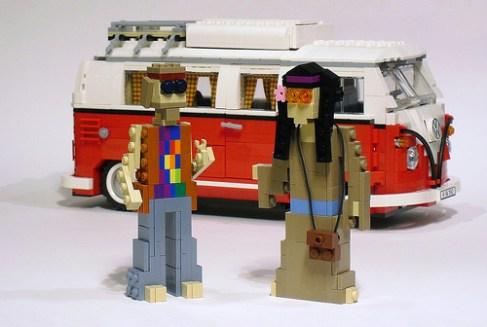 Lego Volkswagen Camper