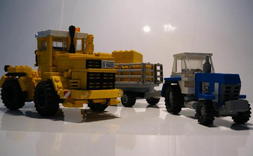 Lego Tractors