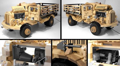 Lego Opel Blitz Supply Truck