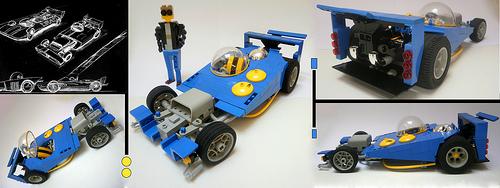 Lego Wacky Racers Rod