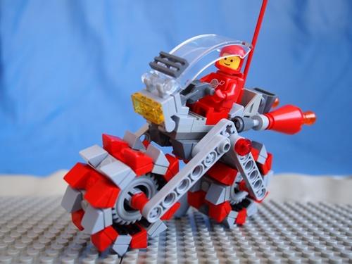 All Terrain Rocket Bike