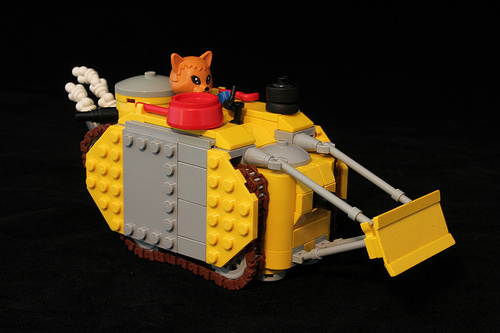 Lego Fabuland Bulldozer