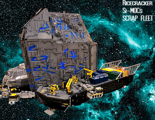 Lego Spaceship Salvage