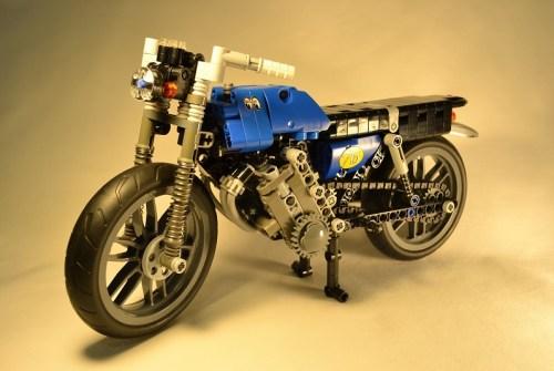 Lego Honda Motorbike