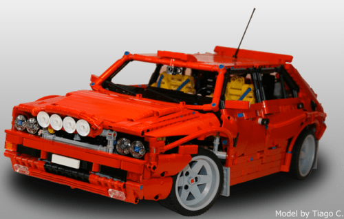 Lego Lancia Delta Integrale