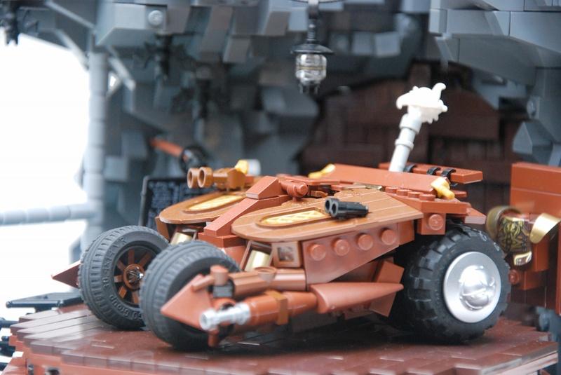 Lego Steampunk Batmobile Tumbler