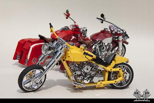Lego Harley Davidson Motorbikes