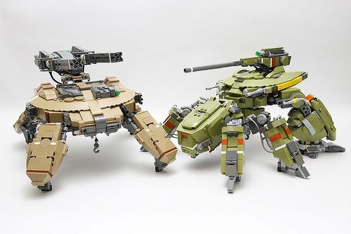 Lego Mechas