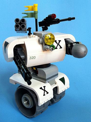 Lego Machine X Segway
