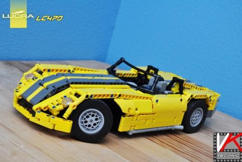 Lego RC car Lucra