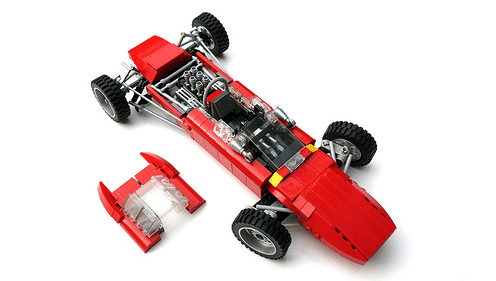 Ferrari 156 Race Car