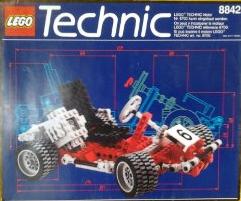 Lego Technic 8842 Review