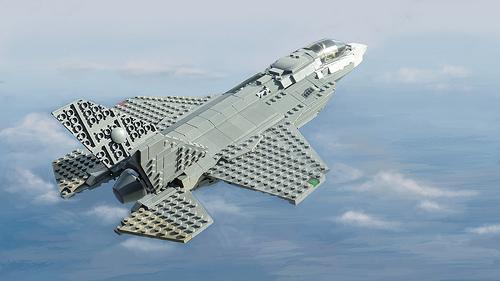 Lego F-35B
