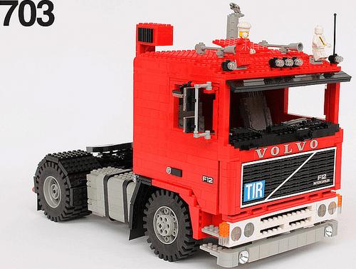 Lego Volco Truck
