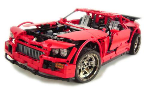 Lego Technic Supercar Crowkillers