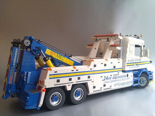 Lego Tow Truck Scania Wrecker