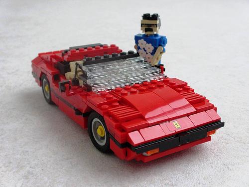 Lego Magnum PI Ralph Savelsberg Ferrari