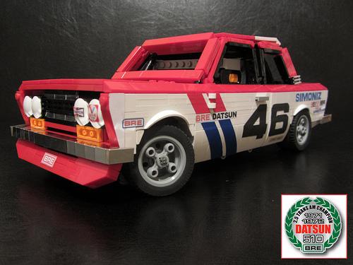 Lego Datsun 510 BRE