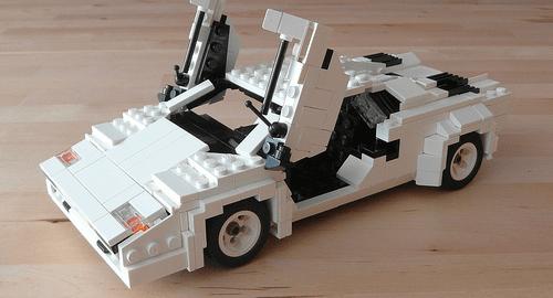 Lego Lamborghini Countach