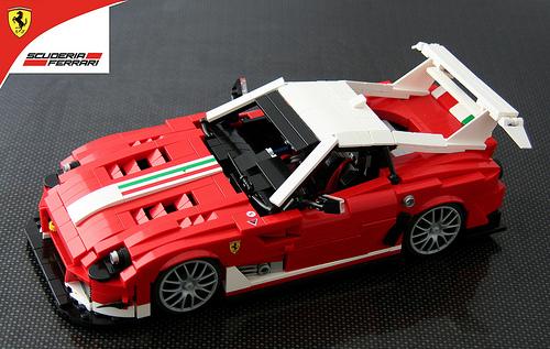 Lego Ferrari 599XX