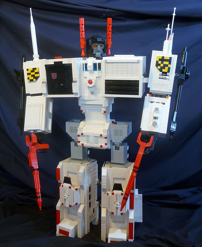 Lego Metroplex Titan Transformer