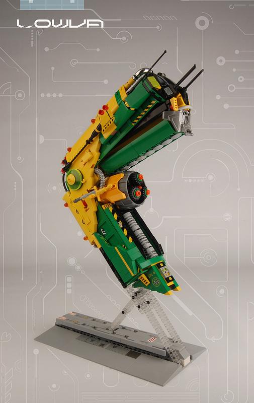 Lego Lowva Spacecraft