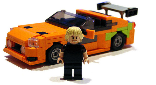 Lego Paul Walker Fast and Furious