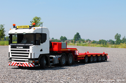 Lego Scania Truck